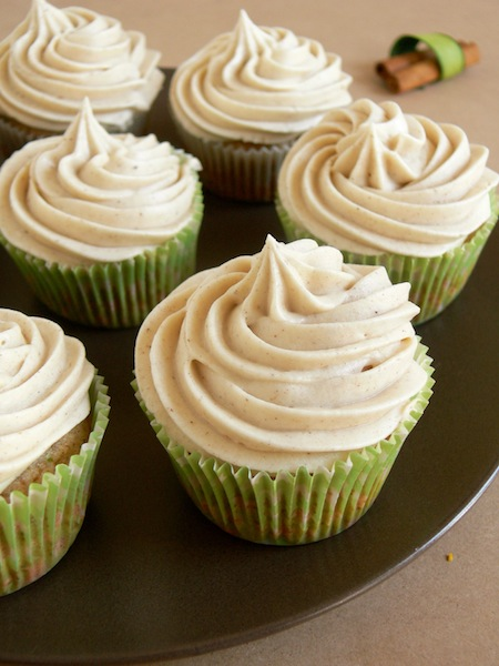 ... Maple Brown Butter Zucchini Cupcakes with Chai Cream Cheese Frosting