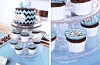 30 Birthday Teal Chevron Sweet Table 1