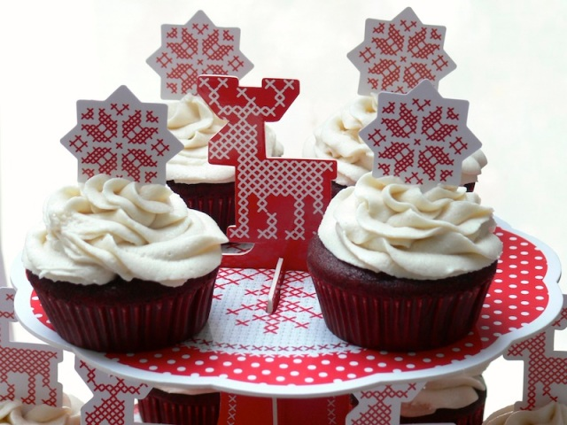 Red Velvet Cupcakes Vegan 1