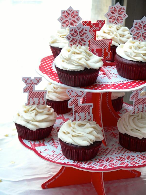 Red Velvet Cupcakes Vegan 2