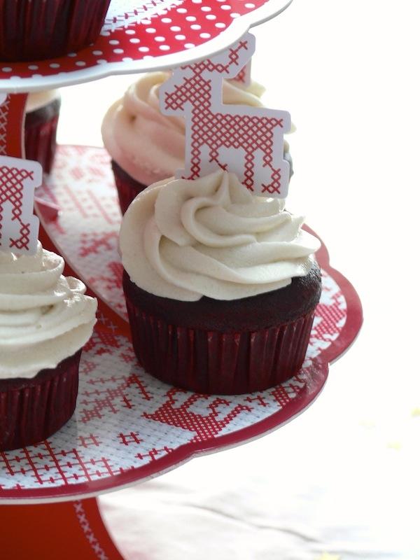 Red Velvet Cupcakes Vegan 3