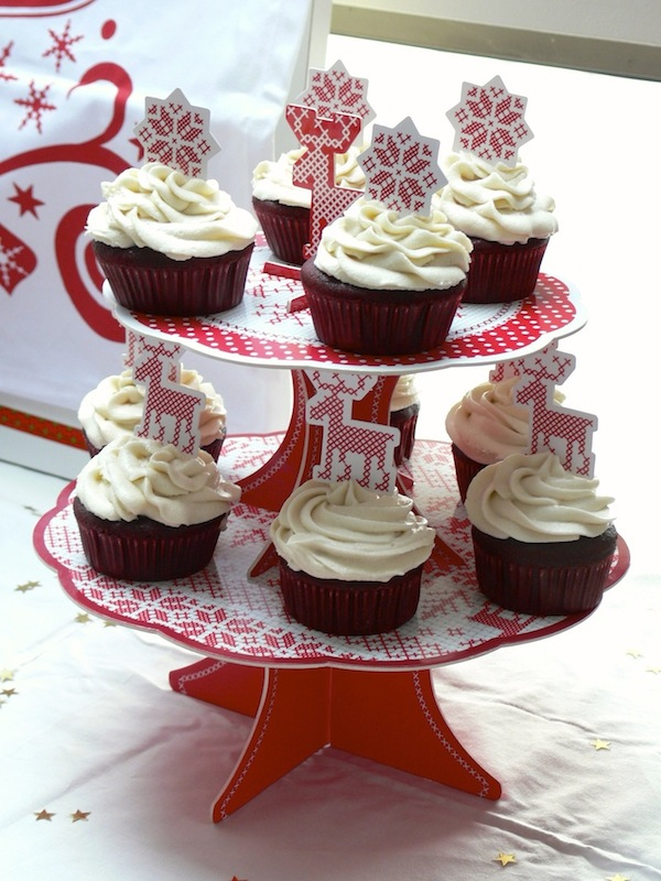 Red Velvet Cupcakes Vegan 4