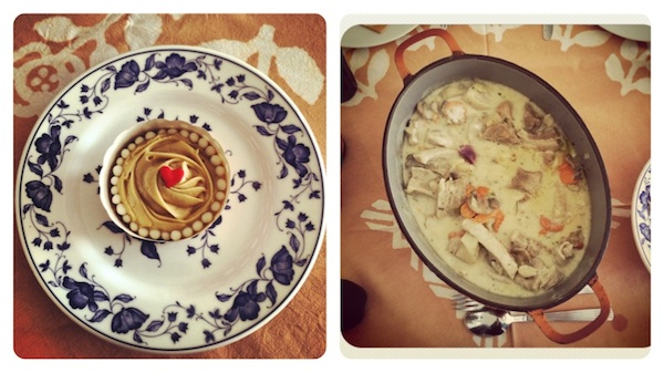 Banana Biscoff Cupcakes Instagram Diptich