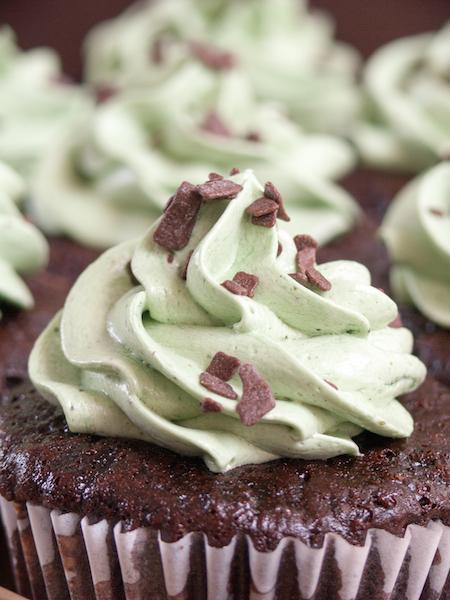 Chocolate Pistachio Cupcakes 1