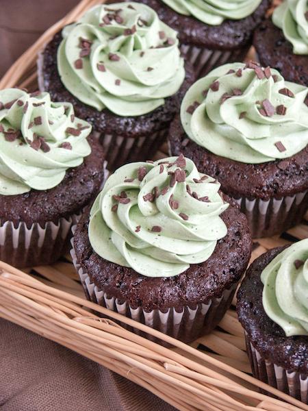 Chocolate Pistachio Cupcakes 2