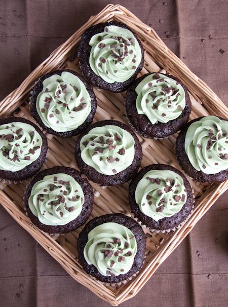Chocolate Pistachio Cupcakes 4