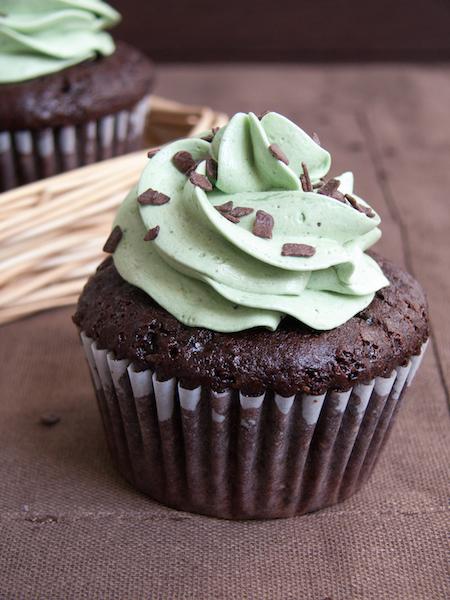 Chocolate Pistachio Cupcakes 6