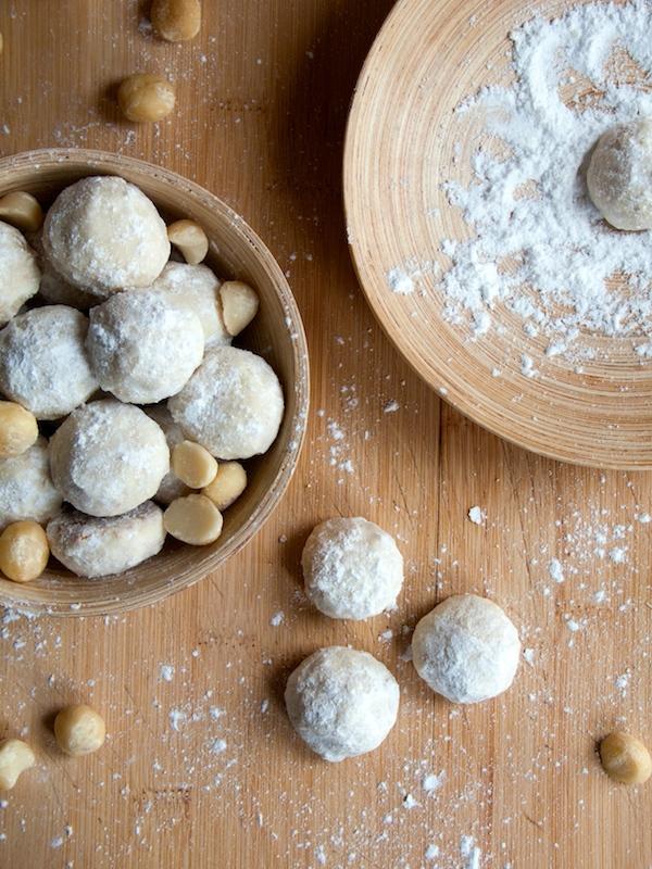 Macadamia Mexican Wedding Cookies  3