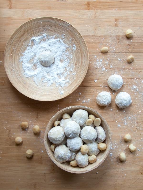 Macadamia Mexican Wedding Cookies 7
