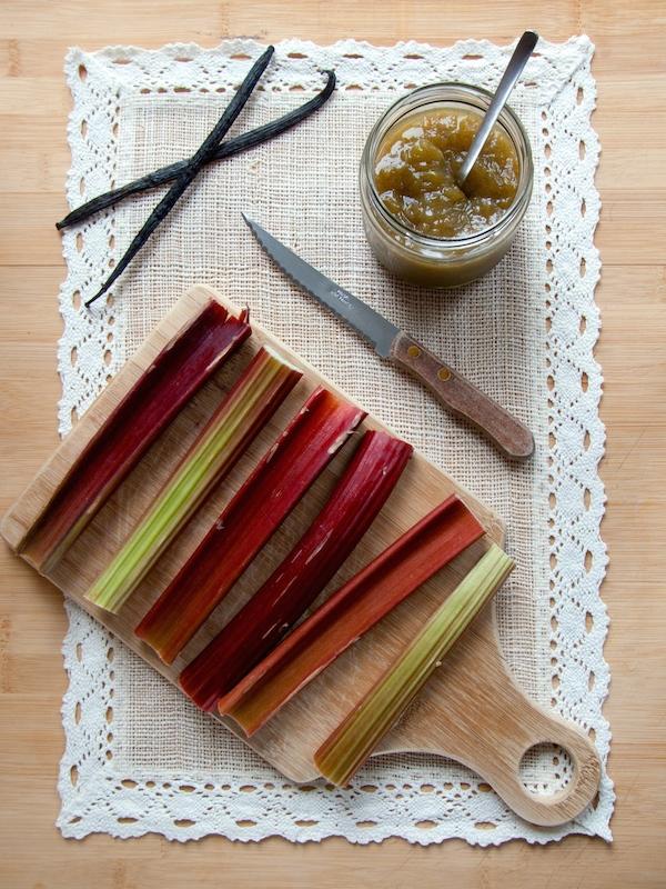 Rhubarb Vanilla Jam 8
