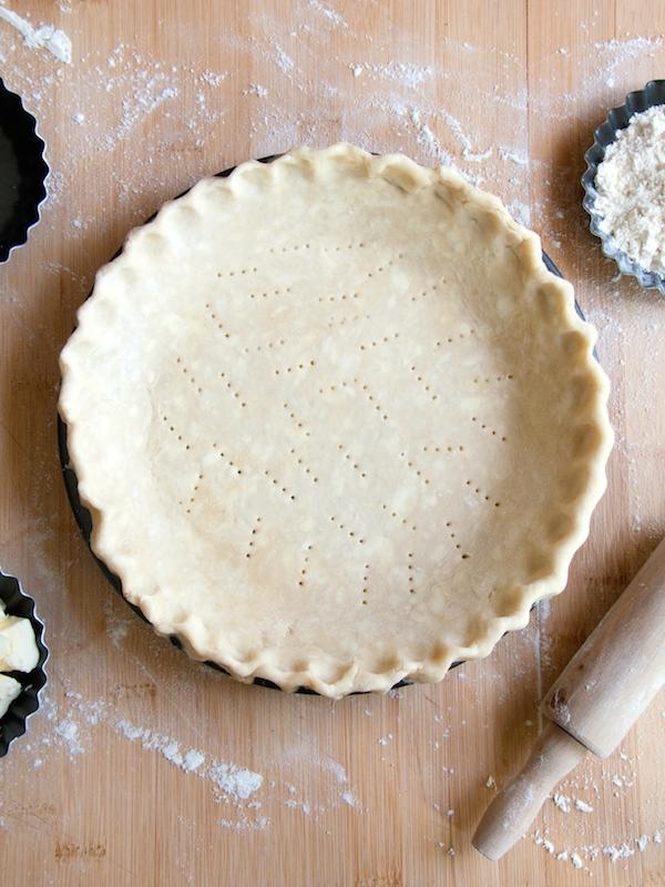 All Butter Flaky Pie Crust / Pâte à Tarte Brisée-Feuilletée Anglo ...