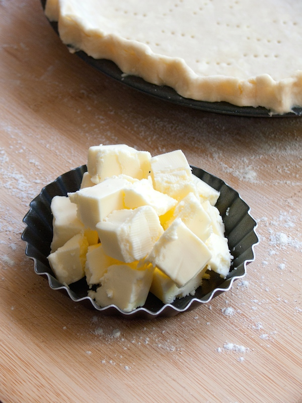 All Butter Flaky Pie Crust (1x 9-inch pie crust):